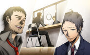 P4AU (Adachi DLC Episode, Adachi and Dojima reconnected)