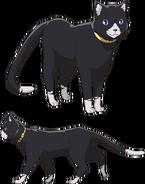 P5A Morgana's cat form Concept Art 1