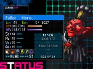 Nisroc Devil Survivor 2 (Top Screen)