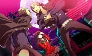P4AU (P4 Mode, Yukiko hard time figuring out who the real kanji)