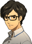 P5R Portrait Maruki Young Serious
