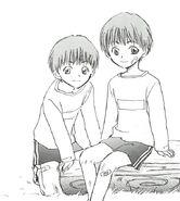 Naoya and Kazuya Children
