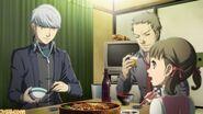 P4U Yu eat with Dojima family awhile return to Inada
