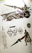 TMS concept art of Cain as a Paladin class