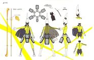 Concept sprite of Tomoe