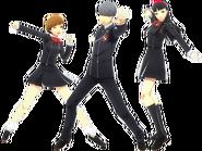 P4D Gekkoukan High Uniform DLC