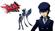 Persona 4 Arena Naoto Shirogane Voice Clips Japanese-Japones