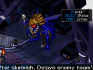 Beelzebub Map Sprite in Devil Survivor 2 (Bottom Screen)