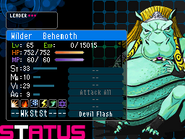 Behemoth Devil Survivor 2 (Top Screen)