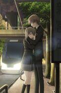 Shin hugging yuki