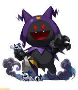 The Alchemist Code Black Frost Character Artwork