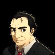 P5 portrait of Toranosuke without sash