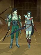 Shin Megami Tensei imagine SMT1Hero and Heroine