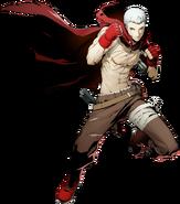 Akihiko Sanada (BlazBlue Cross Tag Battle, Character Select Artwork)