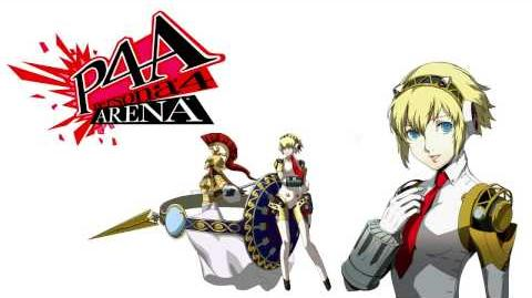 Persona 4 Arena Aigis Voice Clips Japanese - Japones