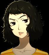 P5 portrait of Kawakami scowling