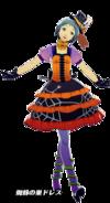 P3D Fuuka Yamagishi Halloween Outfit