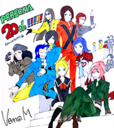 Persona 20th Anniversary Commemoration Illustrated, P2, 02