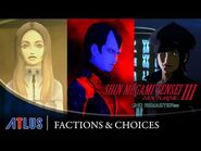 Shin Megami Tensei III Nocturne HD Remaster — Factions & Choices Trailer - PS4, Nintendo Switch, PC