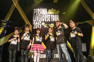 Persona Livehouse Tour 2015 artist and staff