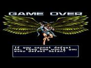 Majin Tensei 1 - Game Over Screens