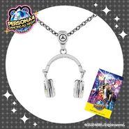 Persona 4 Headphone Pendant