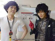 Joker and Kamoshida The Stage