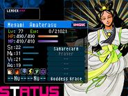 Amaterasu Devil Survivor 2 (Top Screen)