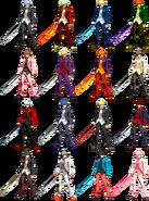 BlazBlue Yu alt colors