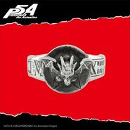 Persona 5 Eterno Rècit Necronomicon Ring
