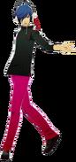 P3D the protagonist DS Protagonist DLC costume