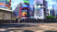 P5D Shibuya stage