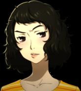 P5 portrait of Kawakami embarrassed