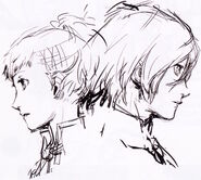 Female and male protagonist