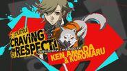 P4AU Ken and Koromaru Render