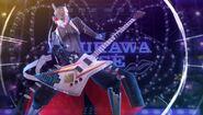 P4D Izanagi playing the bass guitar