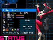 Orobas Devil Survivor 2 (Top Screen)