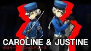 Persona 5 Introducing Caroline & Justine