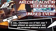 Unused Akechi Rehab Center Event - Persona 5 Royal