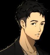 P5R Portrait Shibusawa Surprised