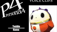 Persona 4 Teddie Voice Clips