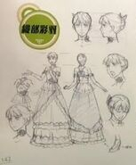 TMS (Cinematic) concept art of Ayaka