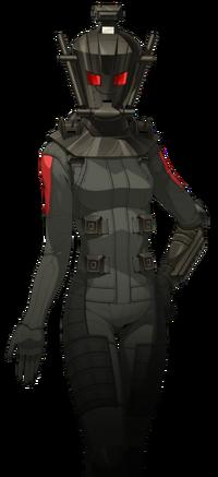 Yuriko, como Samurai Negro, em Shin Megami Tensei IV