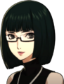 P5 Portrait of Wakaba Smiling
