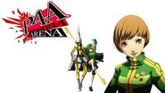 Persona 4 Arena Chie Satonaka Voice Clips English - Ingles