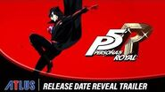 Persona 5 Royal Release Date Reveal Trailer