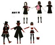 Akane Hasegawa Concept Art