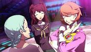P4AU (P4 Mode, Rise,Yukari, and Fuuka getting along)