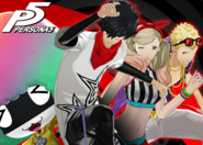 P5 Persona 4 Dancing All Night Costumes DLC