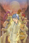 Megami Ibunroku Persona Comic Anthology Kokoro no Umi Yori Dedeshi Mono Full Cover Art